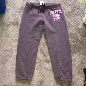 VINTAGE PINK JOGGERS. LIKE NEW.